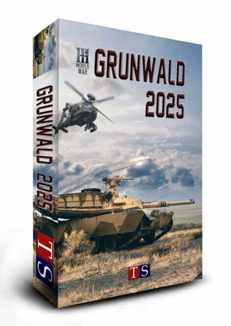 Grunwald 2025 gra wojenna pudelko